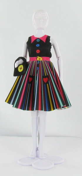 Schnittmuster Peggy Rainbow - Dress your Doll - EdelSternchen´s